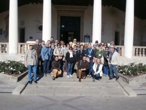 A ROVIGO davanti al Tempio della Beata Vergine del Soccorso, detto La Rotonda